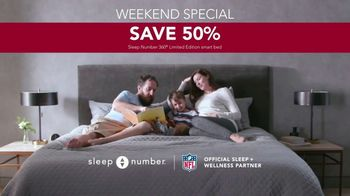 Ultimate Sleep Number Event TV Spot, 'Weekend Special: Save 50% and 0% Interest for 60 Months' - Thumbnail 8