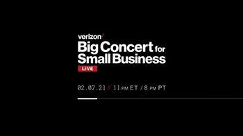 Verizon Super Bowl 2021 TV Spot, 'Big Concert for Small Business' Featuring Alicia Keys - Thumbnail 5