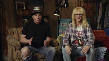 Uber Eats Super Bowl 2021 TV Spot, 'Wayne's World & Cardi B's Shameless Manipulation' Ft. Mike Myers, Dana Carvey, Cardi B