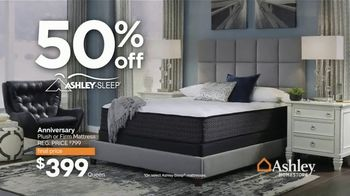 Ashley HomeStore Presidents Day Mattress Marathon TV Spot, '50% Off' - Thumbnail 4