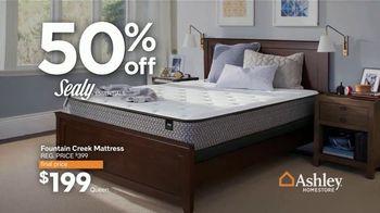 Ashley HomeStore Presidents Day Mattress Marathon TV Spot, '50% Off' - Thumbnail 5