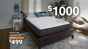 Ashley HomeStore Presidents Day Mattress Marathon TV Spot, '50% Off' - Thumbnail 8
