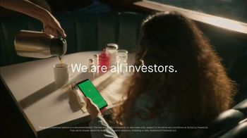 Robinhood Financial Super Bowl 2021 TV Spot, 'We Are All Investors' Song by Vacationer