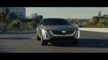 Cadillac LYRIQ Super Bowl 2021 TV Spot, 'ScissorHandsFree' Ft. Winona Ryder, Timothée Chalamet [T1] - Thumbnail 9