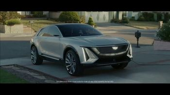 Cadillac LYRIQ Super Bowl 2021 TV Spot, 'ScissorHandsFree' Ft. Winona Ryder, Timothée Chalamet [T1] - Thumbnail 7