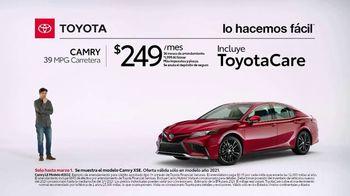 2021 Toyota Camry TV Spot, 'Una sorpresa' [Spanish] [T2] - Thumbnail 1