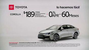 2021 Toyota Corolla TV Spot, 'Comentarista deportivo: Corolla' [Spanish] [T2] - Thumbnail 1