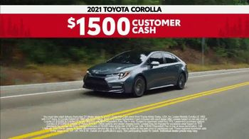 2021 Toyota Corolla TV Spot, 'Road Trip: Connected' Ft. Ethan Erickson, Danielle Demski [T2] - Thumbnail 8