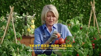 Scotts Miracle-Gro Super Bowl 2021 TV Spot, 'Keep Growing' Featuring Martha Stewart, Leslie David Baker - Thumbnail 4