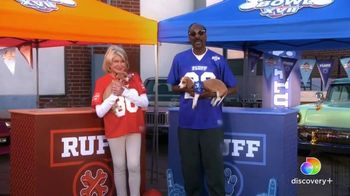 Discovery+ TV Spot, 'Puppy Bowl XVII' Featuring Snoop Dogg, Martha Stewart - 596 commercial airings