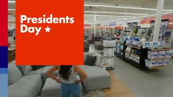 Big Lots Presidents Day Sale TV Spot, \'All Month Long: Select Sofas Now $299\'