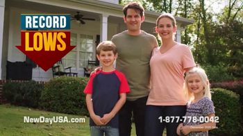 NewDay USA RefiPLUS TV Spot, 'New Day for Veteran Homeowners: Record Lows'