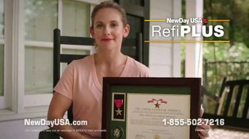 NewDay USA RefiPLUS TV Spot, 'New Day for Veteran Homeowners: That's Me' - Thumbnail 6