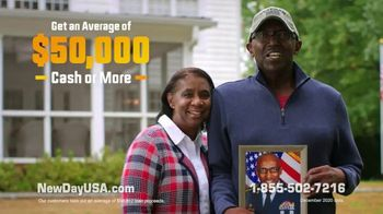 NewDay USA RefiPLUS TV Spot, 'New Day for Veteran Homeowners: That's Me' - Thumbnail 7