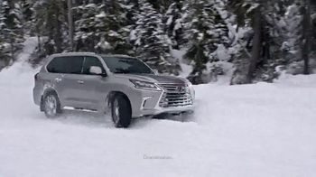 Lexus TV Spot, 'Snow Play' Song by Denny Wright [T1] - 222 commercial airings