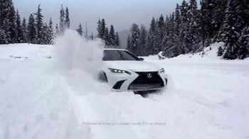 Lexus TV Spot, 'Snow Play' Song by Denny Wright [T1] - Thumbnail 4