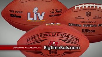 Big Time Bats TV Spot, 'Tampa Bay Bucs Super Bowl LV Champions' - Thumbnail 3