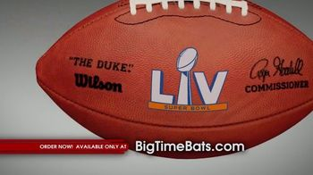 Big Time Bats TV Spot, 'Tampa Bay Bucs Super Bowl LV Champions' - Thumbnail 4