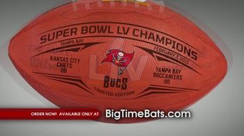 Big Time Bats TV Spot, 'Tampa Bay Bucs Super Bowl LV Champions' - Thumbnail 5