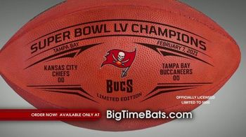 Big Time Bats TV Spot, 'Tampa Bay Bucs Super Bowl LV Champions' - Thumbnail 6