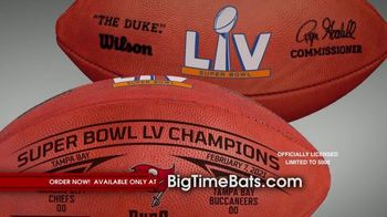 Big Time Bats TV Spot, 'Tampa Bay Bucs Super Bowl LV Champions' - Thumbnail 7