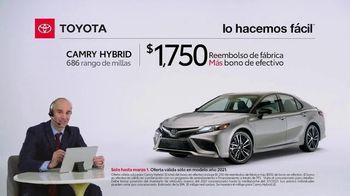 2021 Toyota Camry Hybrid TV Spot, 'Comentarista deportivo: Camry' [Spanish] [T2] - Thumbnail 2