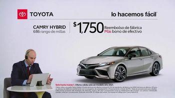 2021 Toyota Camry Hybrid TV Spot, 'Comentarista deportivo: Camry' [Spanish] [T2] - Thumbnail 3