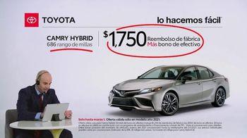 2021 Toyota Camry Hybrid TV Spot, 'Comentarista deportivo: Camry' [Spanish] [T2] - Thumbnail 4