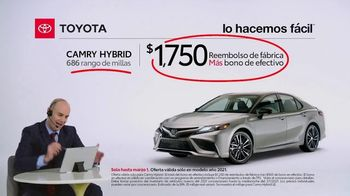 2021 Toyota Camry Hybrid TV Spot, 'Comentarista deportivo: Camry' [Spanish] [T2] - Thumbnail 5