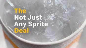 McDonald's $1 Any Size Drink TV Spot, 'The Not Just Any Sprite Deal' - Thumbnail 6