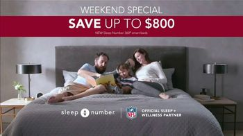 Ultimate Sleep Number Event TV Spot, 'Weekend Special: Save up to $800' Featuring Travis Kelce - Thumbnail 9