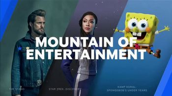 Paramount+ Super Bowl 2021 TV Spot, 'Mountain of Entertainment'