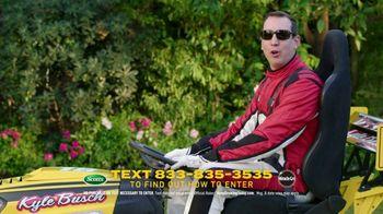 Scotts Dream Lawn and Garden Giveaway TV Spot, 'Kyle Busch's Bush: Keep Growing'