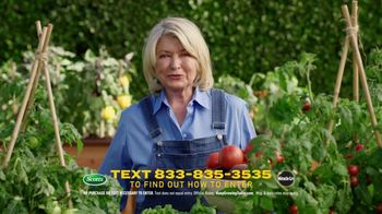 Scotts Dream Lawn and Garden Giveaway TV Spot, 'Martha Stewart Gardening: Keep Growing'
