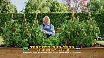 Scotts Dream Lawn and Garden Giveaway TV Spot, 'Martha Stewart Gardening: Keep Growing' - Thumbnail 1