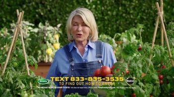 Scotts Dream Lawn and Garden Giveaway TV Spot, 'Martha Stewart Gardening: Keep Growing' - Thumbnail 5