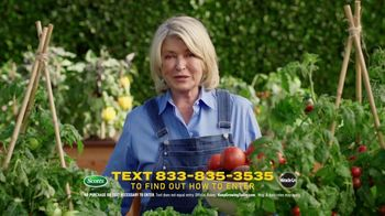 Scotts Dream Lawn and Garden Giveaway TV Spot, 'Martha Stewart Gardening: Keep Growing' - Thumbnail 6