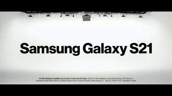 Verizon TV Spot, 'Ridiculously Fast: Samsung Galaxy S21+ 5G' - Thumbnail 2
