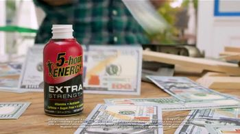 5-Hour Energy Extra Strength TV Spot, 'Getting Stuff Done Everyday: Paint'