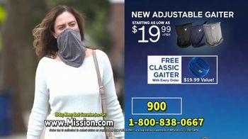 Mission Cooling All-Season Adjustable Gaiter TV Spot, 'Covered and Comfortable' Featuring Dwyane Wade - Thumbnail 9