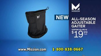 Mission Cooling All-Season Adjustable Gaiter TV Spot, 'Covered and Comfortable' Featuring Dwyane Wade - Thumbnail 8