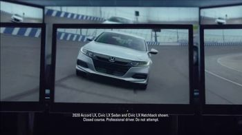 Happy Honda Days Sales Event TV Spot, 'Serious: Accord & Civic' [T2]
