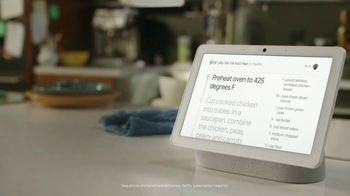 Google Nest Hub Max TV Spot, 'Dine-In Motivator: $49.99'