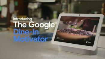 Google Nest Hub Max TV Spot, 'Dine-In Motivator: $49.99' - Thumbnail 5