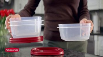 Rubbermaid TV Spot, 'Find the Right Lid Every Time' - Thumbnail 2