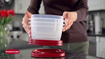Rubbermaid TV Spot, 'Find the Right Lid Every Time' - Thumbnail 3