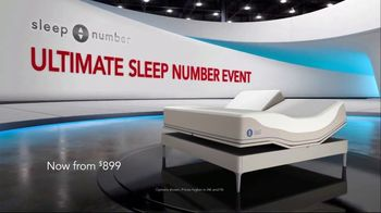 Ultimate Sleep Number Event TV Spot, 'Weekend Special: Save 50%' - Thumbnail 1