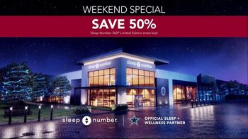 Ultimate Sleep Number Event TV Spot, 'Weekend Special: Save 50%' - Thumbnail 7