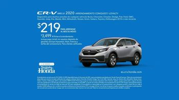El Evento Navidades Honda TV Spot, 'En serio: CR-V y HR-V' [Spanish] [T2] - Thumbnail 9