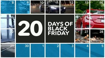 Happy Honda Days Sales Event TV Spot, '20 Days of Black Friday: Sedans' [T2] - Thumbnail 4